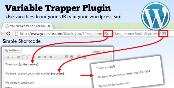 WordPress Variable Trapper Plugin (Utilities) images