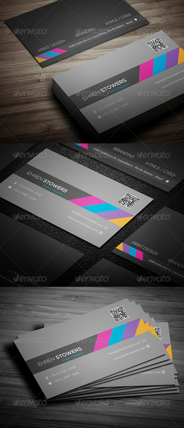 GraphicRiver Creative Business Card 006 5242585