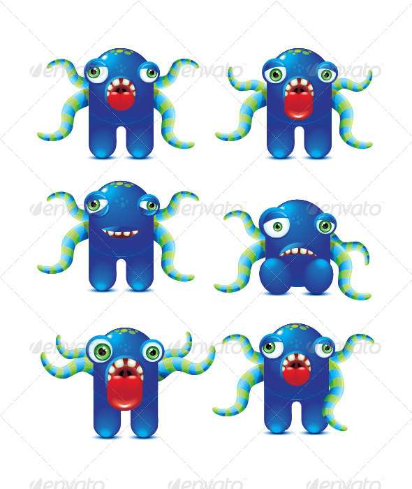 GraphicRiver Monster Character 5242672