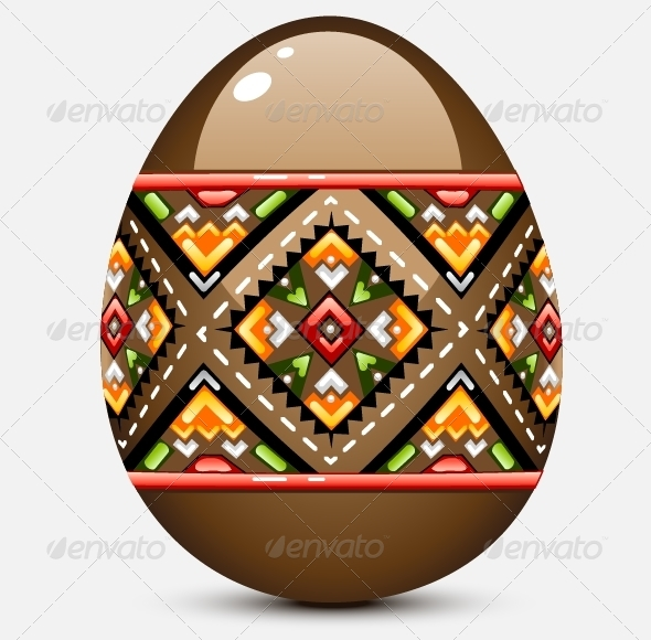 GraphicRiver Chocolate Easter Egg 5242694