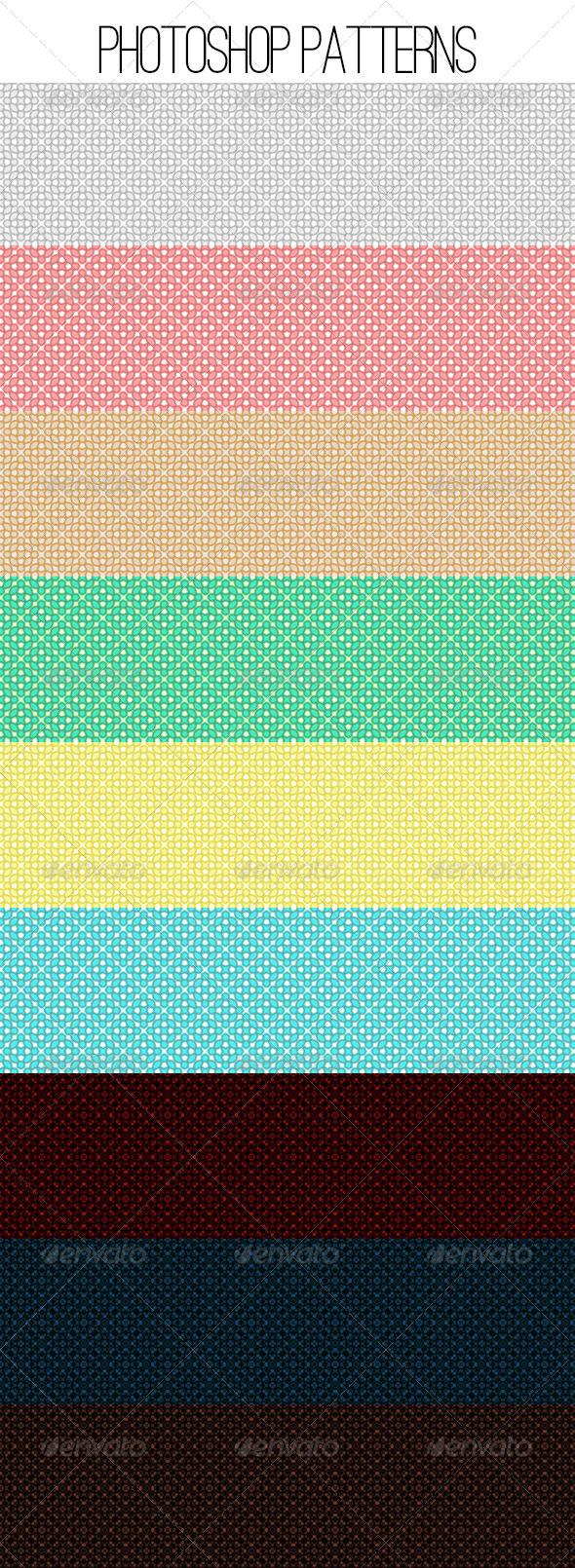 GraphicRiver Simple Photoshop Patterns 5242711