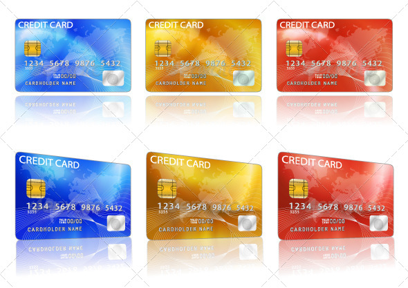 GraphicRiver Credit Cards 5242277