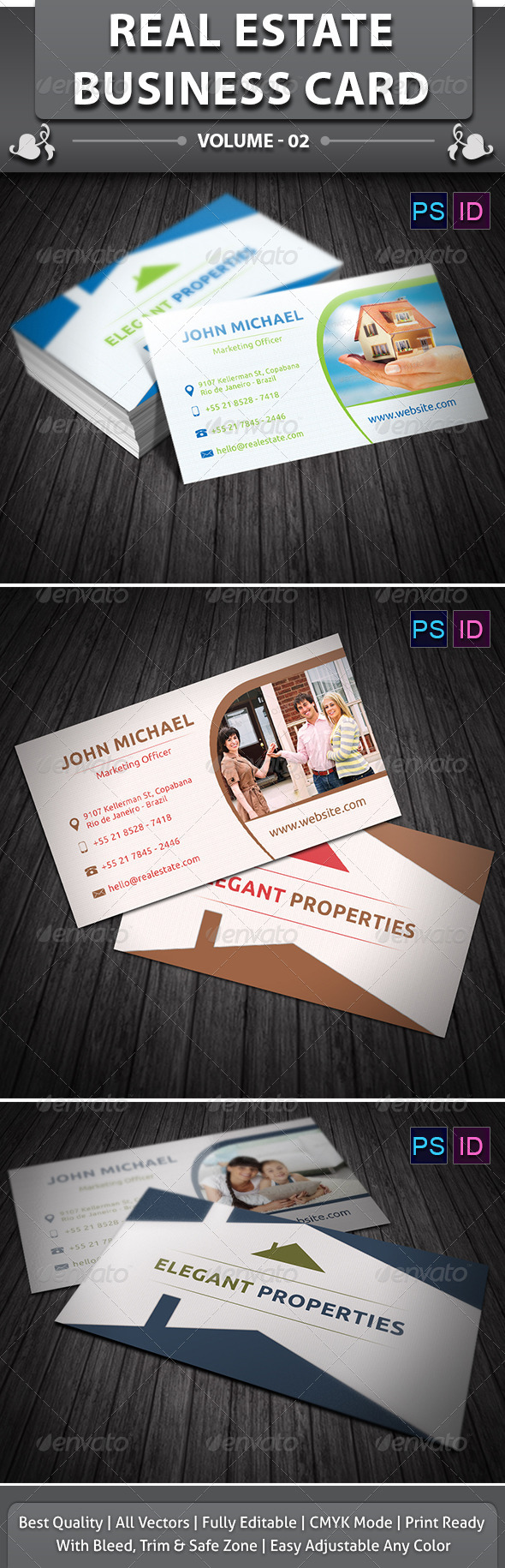 Real Estate Business Card v2