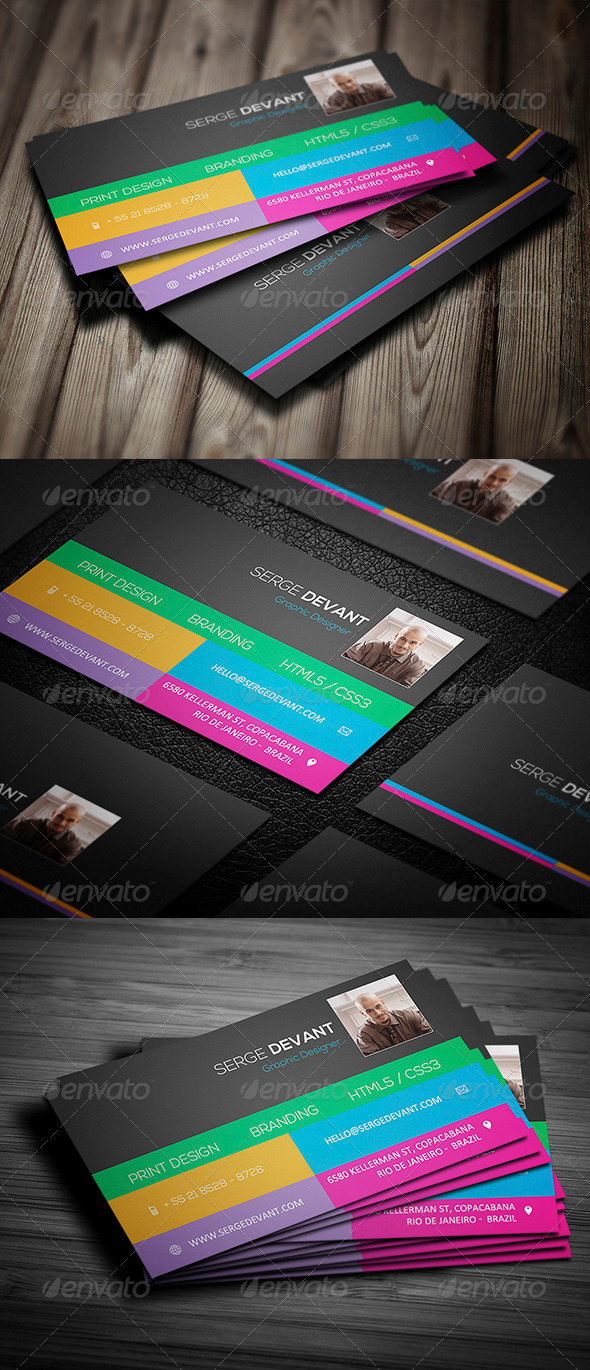 GraphicRiver Creative Business Card 007 5243050