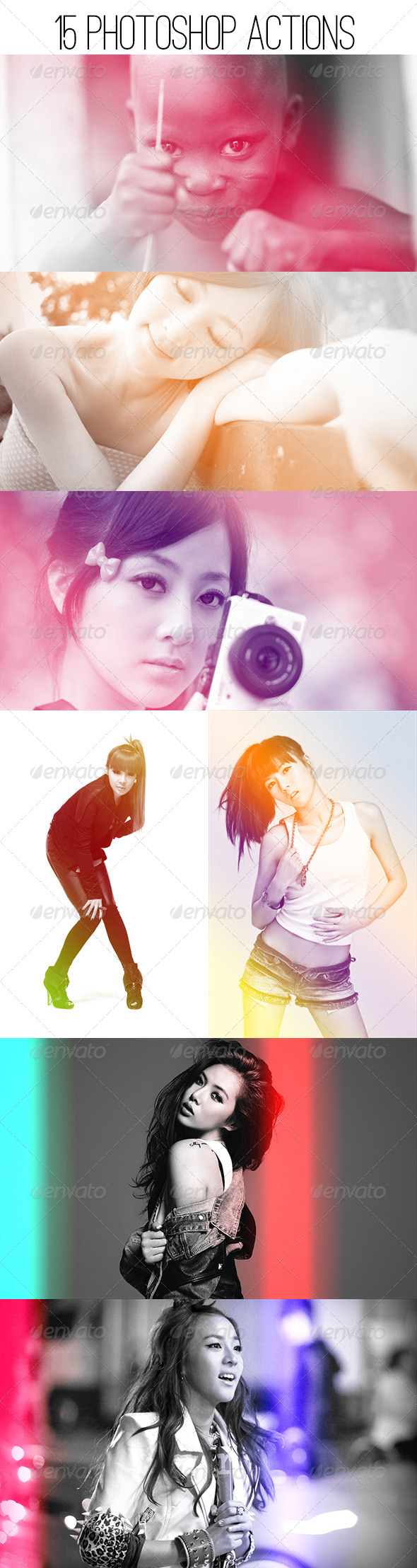 GraphicRiver Gradient Photo Effects 5243211