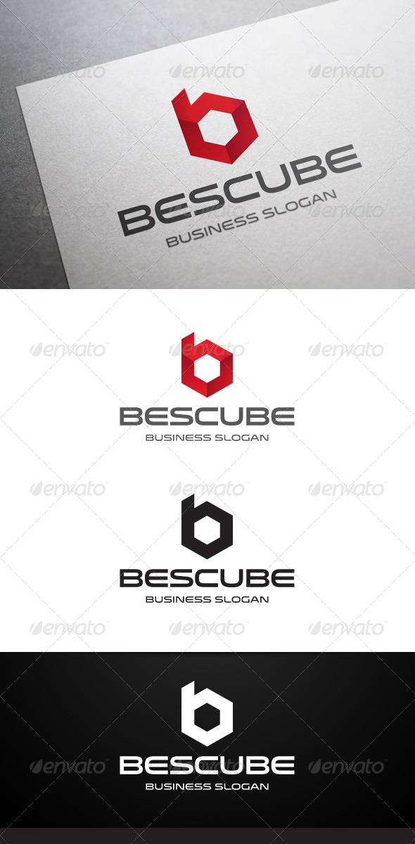 GraphicRiver Bescube B Letter Logo 5243382