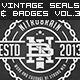 Vintage Seals and Badges Vol. 3 - GraphicRiver Item for Sale