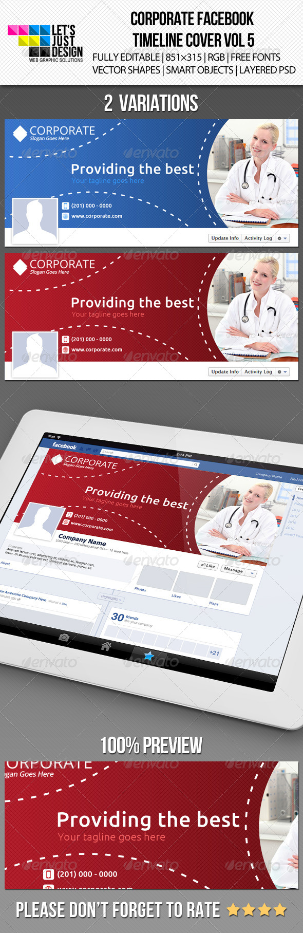 GraphicRiver Creative Corporate Facebook Timeline Cover Vol 4 5243631