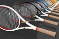 Tennis Racket Color Line - PhotoDune Item for Sale