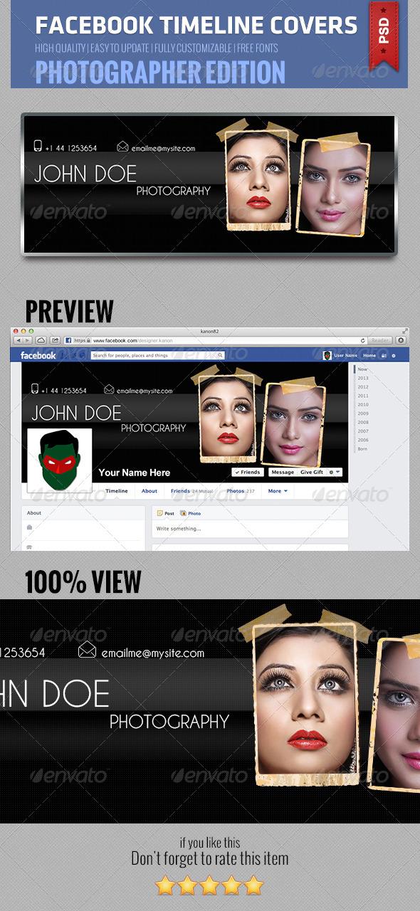 GraphicRiver Facebook Timeline Cover V3 5244421