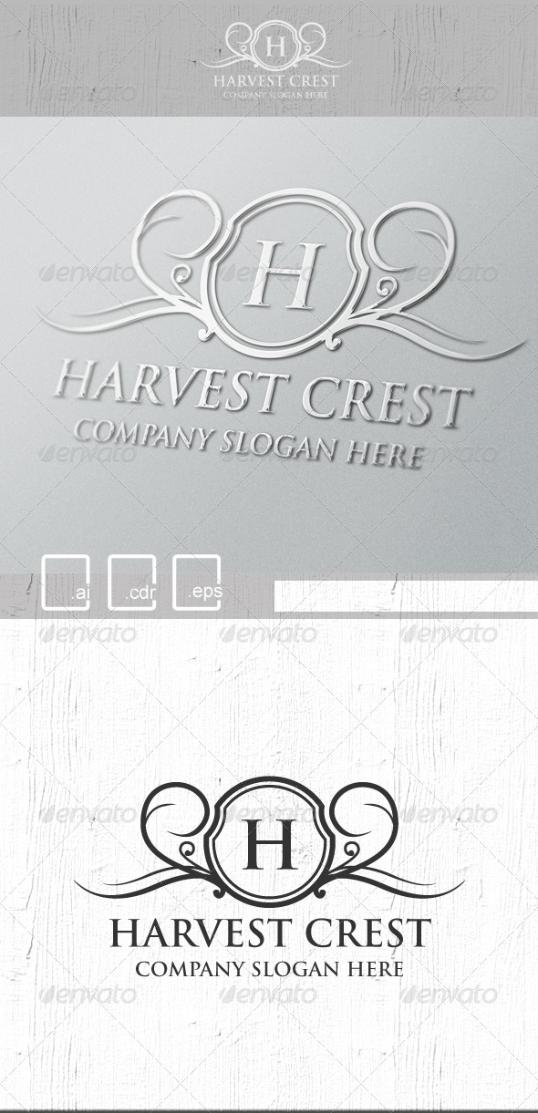 GraphicRiver Harvest Crest Logo 5221165
