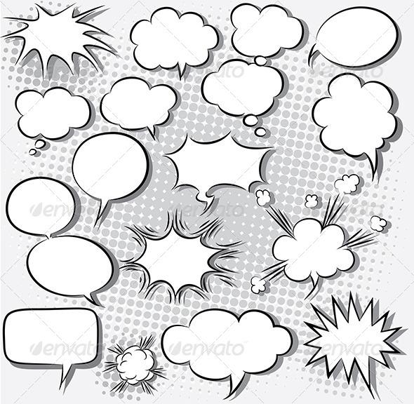 GraphicRiver Speech Bubbles 5245070