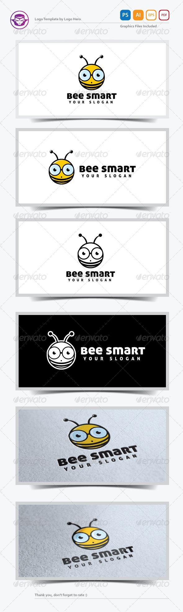 GraphicRiver Bee Smart Logo Template 5245655