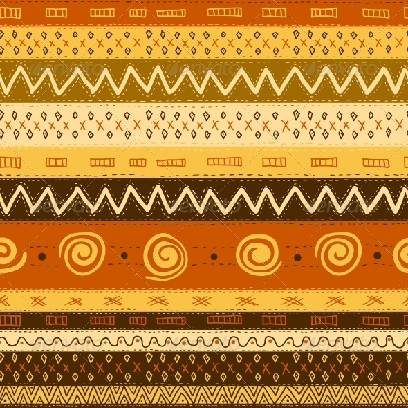GraphicRiver Ethnic African Seamless Background 5245901