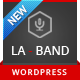 LA-BAND – Music Band Premium WordPress Theme  Free Download