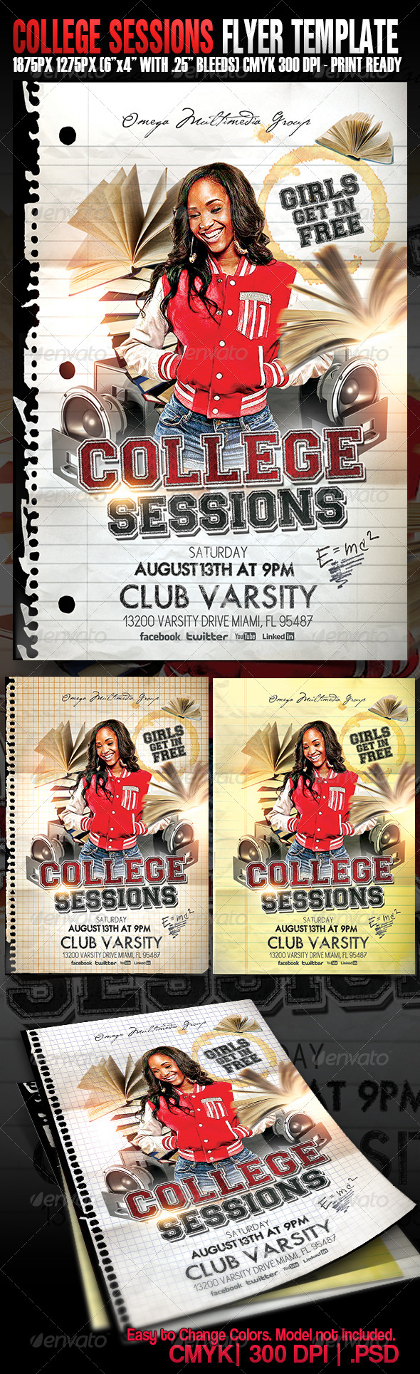 GraphicRiver College Sessions 5197136