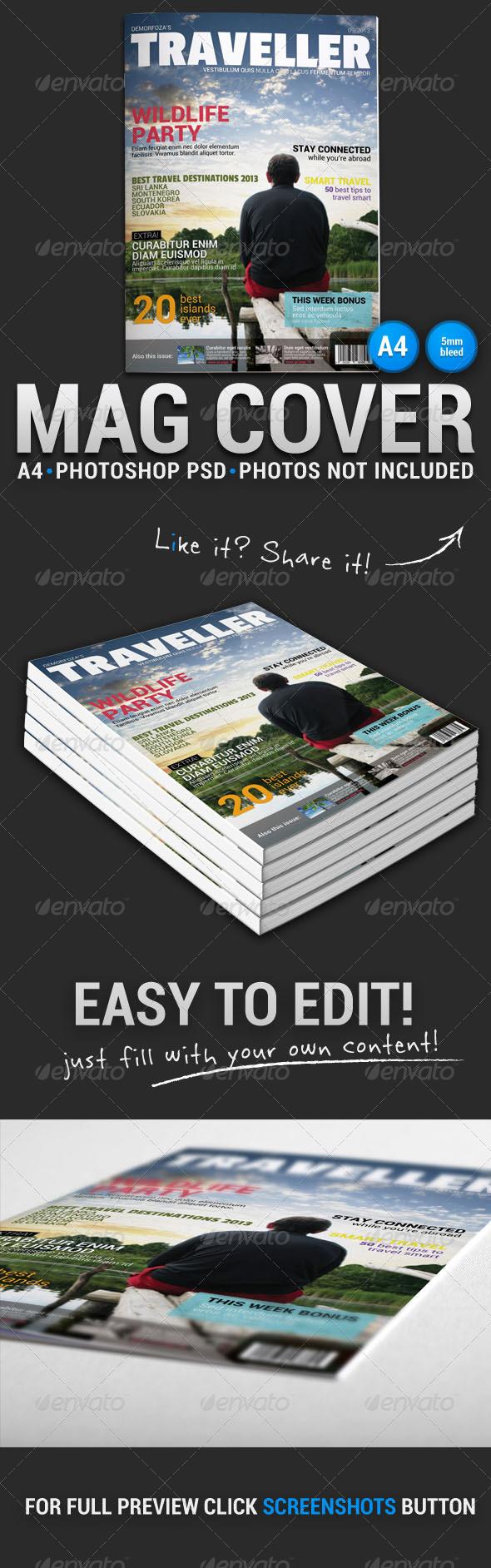 GraphicRiver Magazine Cover 1 5246069