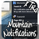 Mountain Notification xtra - CodeCanyon Item for Sale