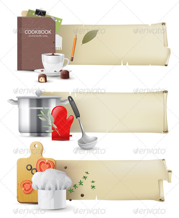 GraphicRiver Cooking Banners 5246239