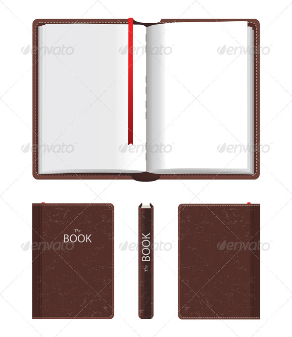 GraphicRiver Open and Closed Book 5246331