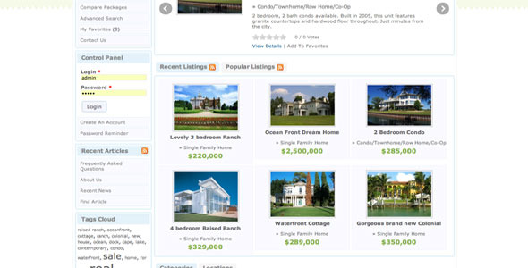 CodeCanyon Powerful Directory Listings Classified Ads or Real Estate Web Site Script & CMS 5232076