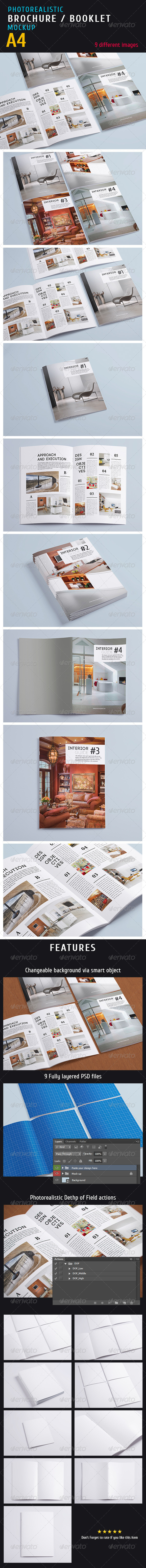 GraphicRiver Magazine Mock-up Vol.1 5246443