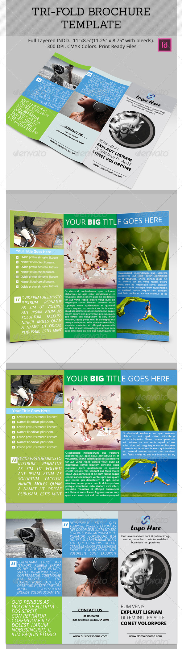 GraphicRiver Tri-Fold Brochure Template 5246981