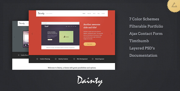 Dainty - Business xHTML Template