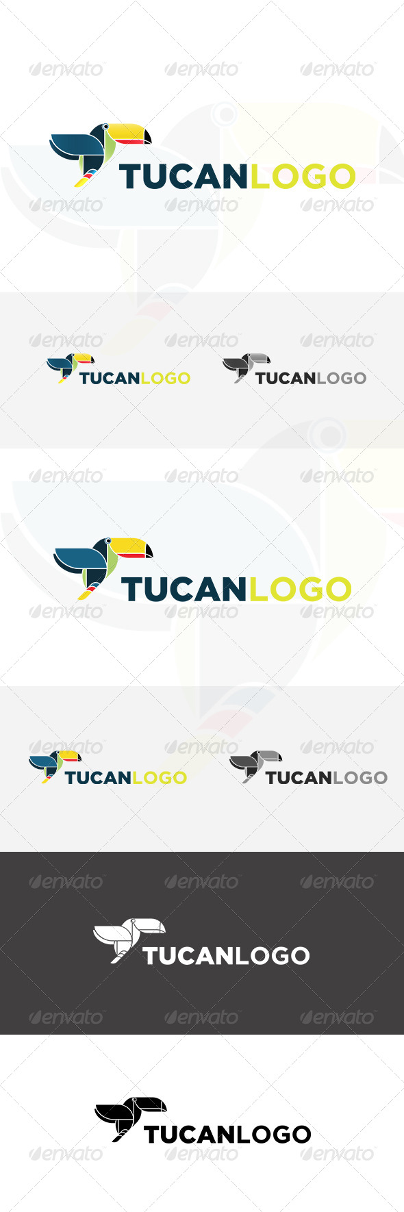 GraphicRiver Tucan Logo 5247582