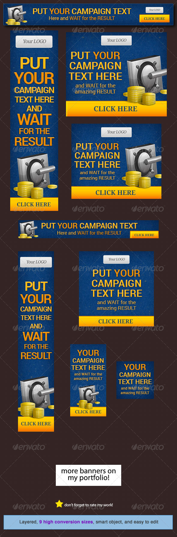 GraphicRiver Money Maker Web Banner Design Template 5247585