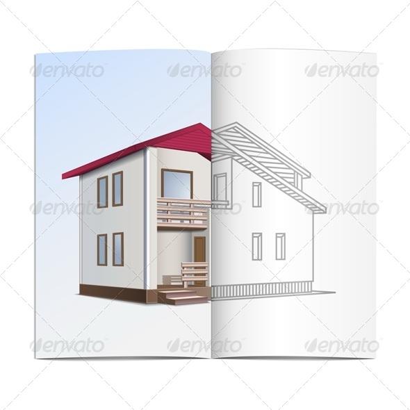 GraphicRiver House Sketch 5247682
