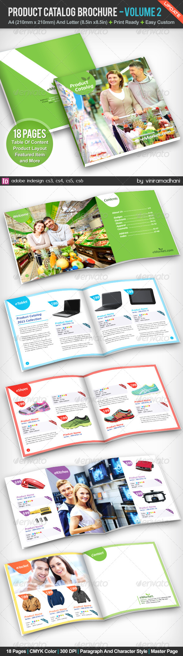 GraphicRiver Product Catalog Brochure 5247713