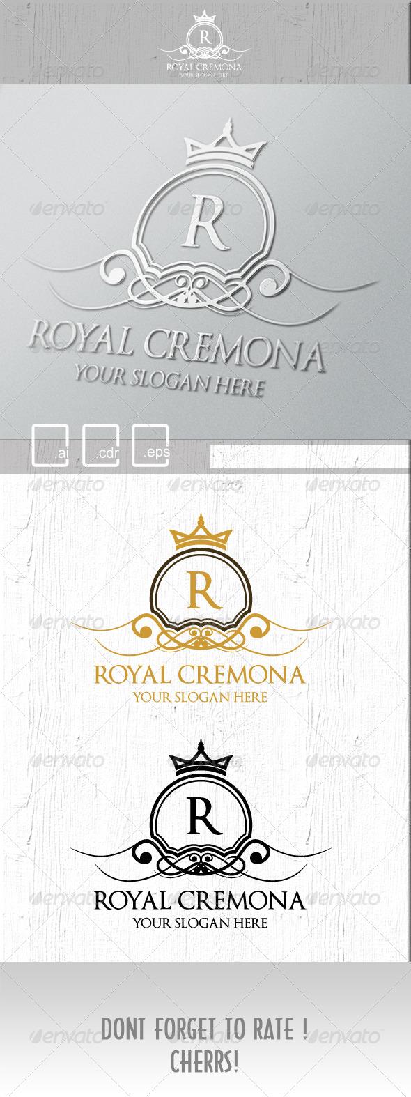 GraphicRiver Royal Cremona Logo 5248419