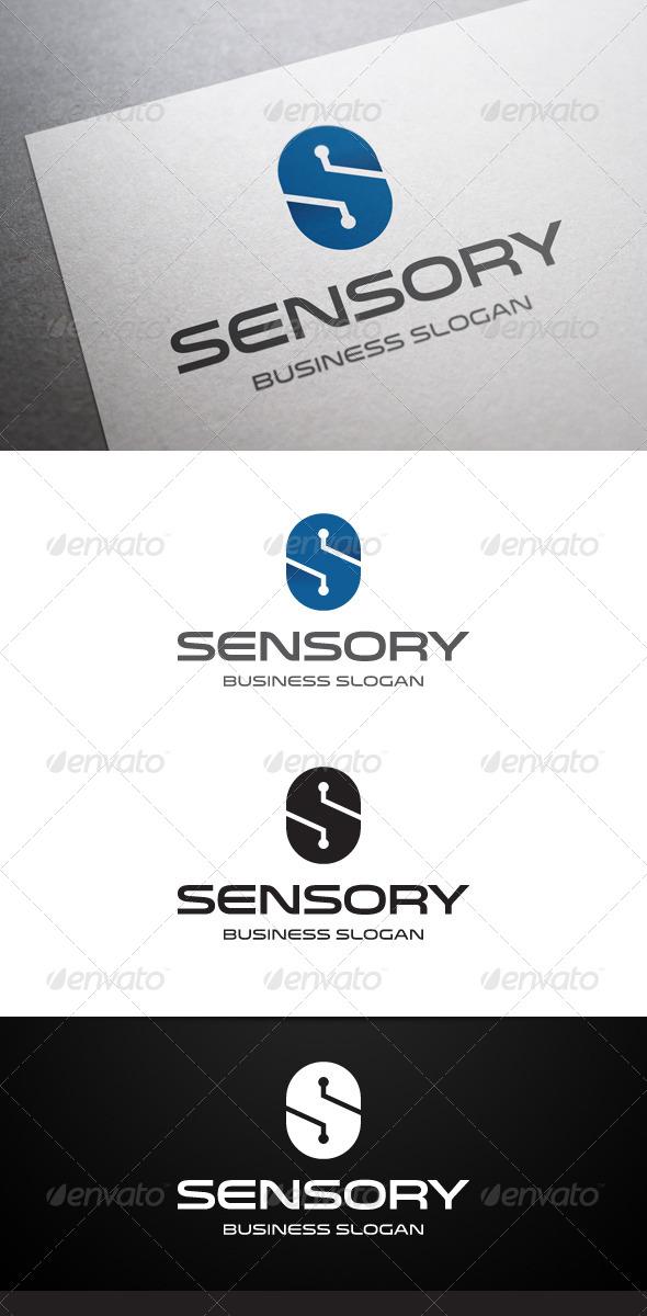 Sensory S Letter Logo