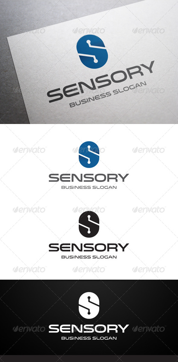 GraphicRiver Sensory S Letter Logo 5248999