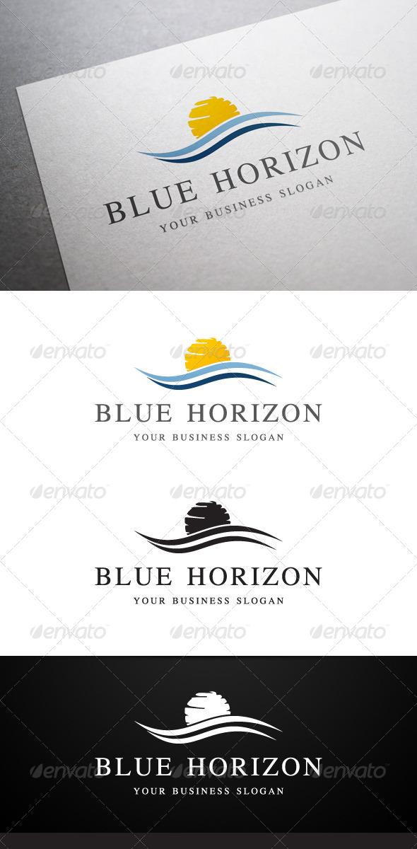 GraphicRiver Blue Horizon Logo 5249049