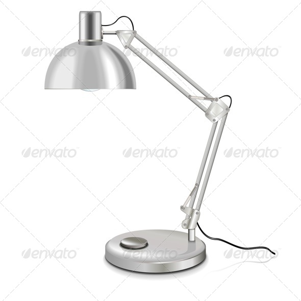 GraphicRiver Vector Table-Lamp 5249128