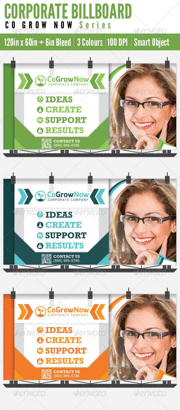 GraphicRiver Billboard Corporate 5208914