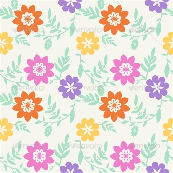 GraphicRiver Floral Pattern 5249574