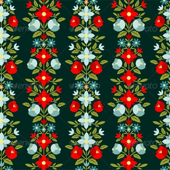 GraphicRiver Floral Pattern 5249583