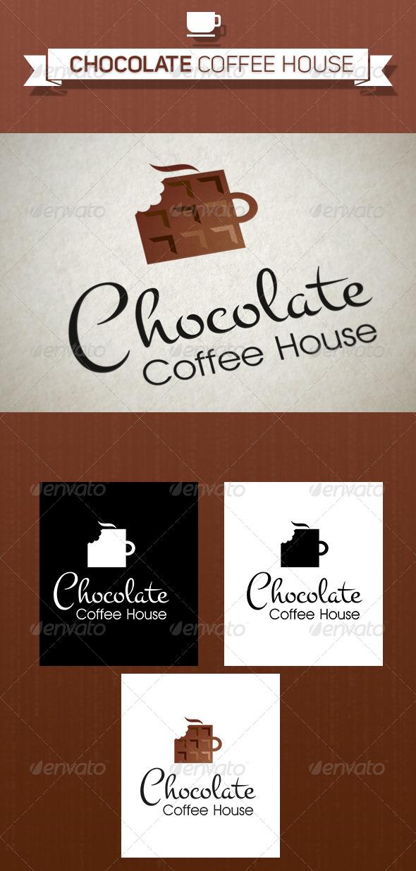 GraphicRiver Chocolate Coffee House Logo 5249584