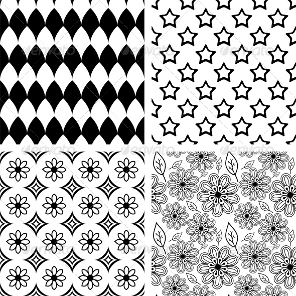 GraphicRiver Patterns Set 5249603