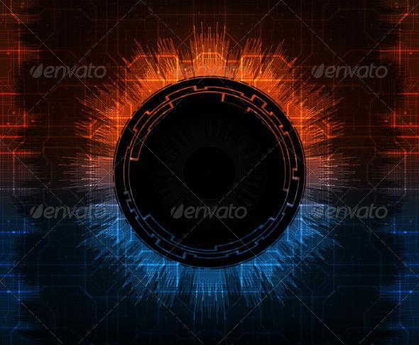 GraphicRiver Futuristic Background 5249760