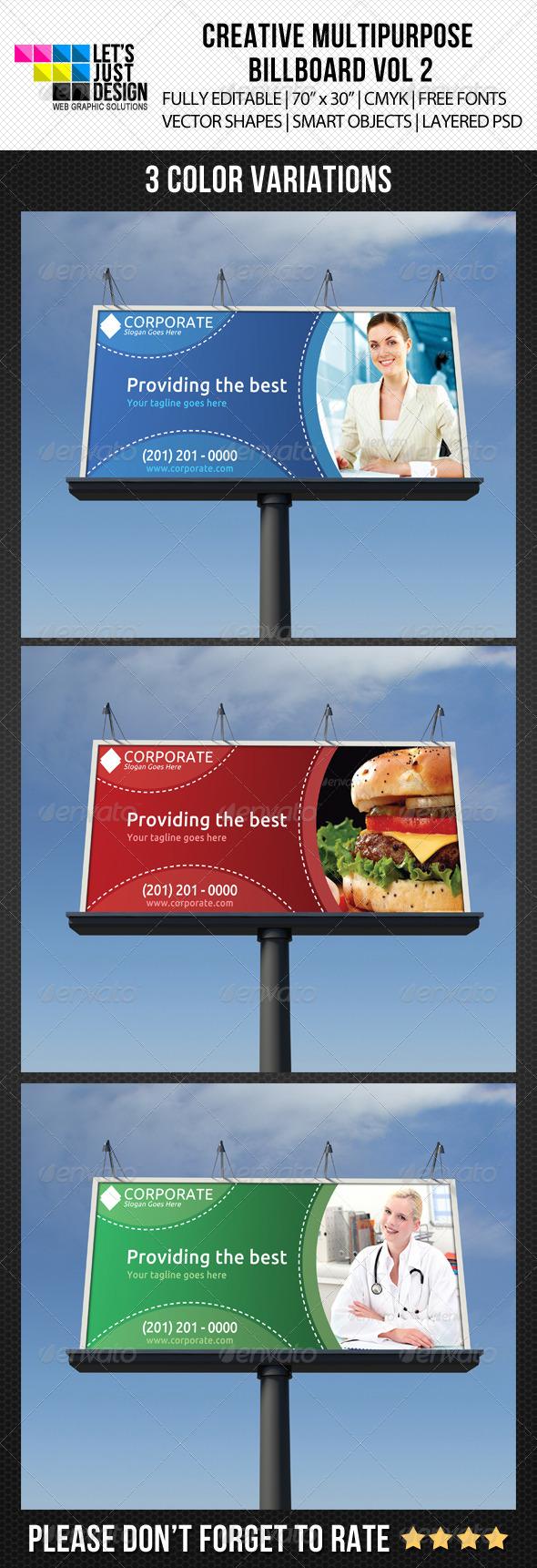 GraphicRiver Multipurpose Billboard Banner Vol 2 5250111