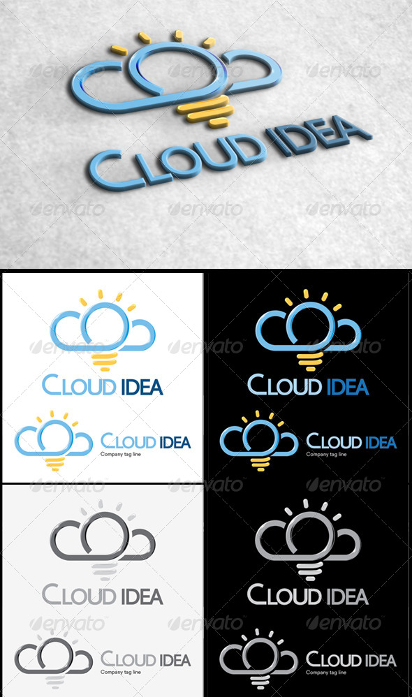 GraphicRiver Cloud Idea 5245059