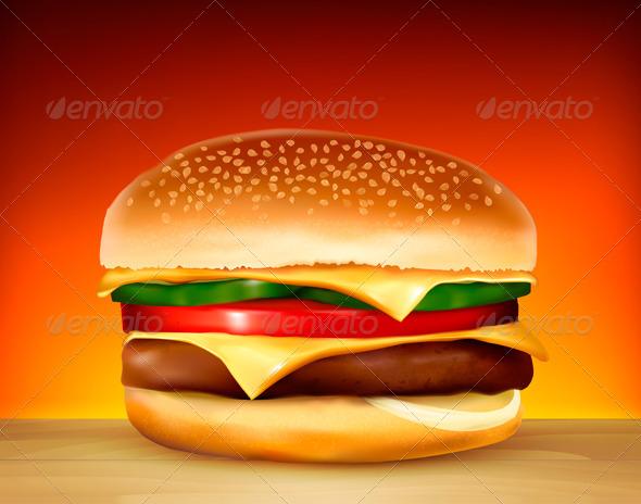 GraphicRiver Hamburger 5250449