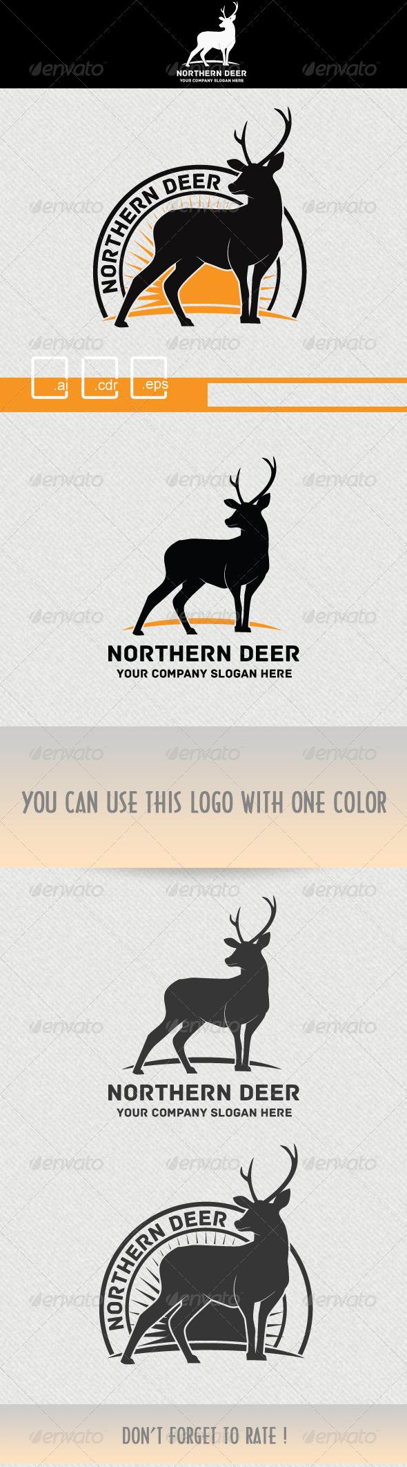 GraphicRiver Deer Logo 5250524