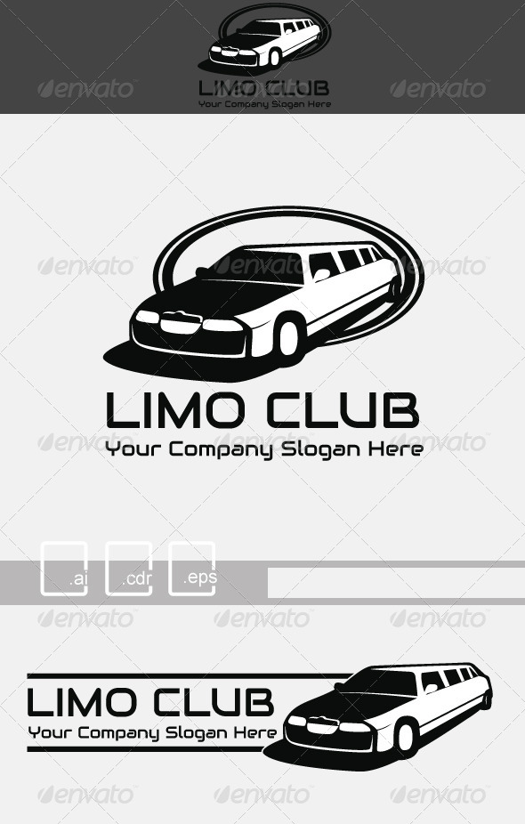 Limo Club Logo - Objects Logo Templates