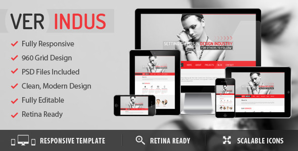 ThemeForest VerIndus Simplified Creative 5247022