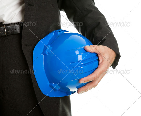 PhotoDune Close-up of architect worker holding hard hat 539732